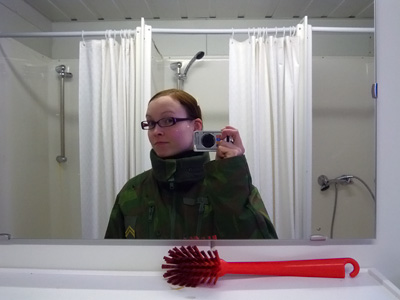 Peilikuva vessassa
