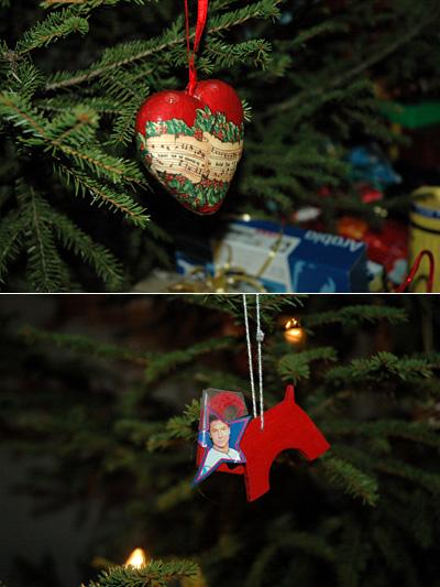 Joulukuusen koristeet