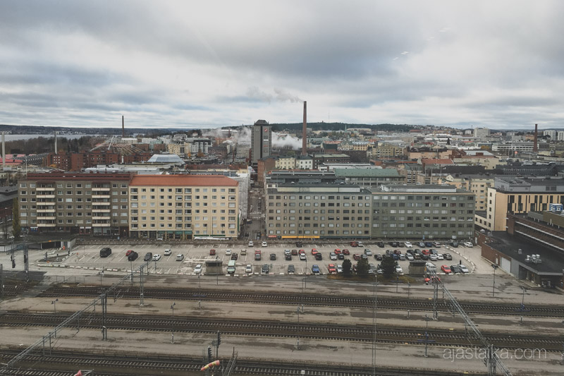 Tampereen kaupunkimaisemaa