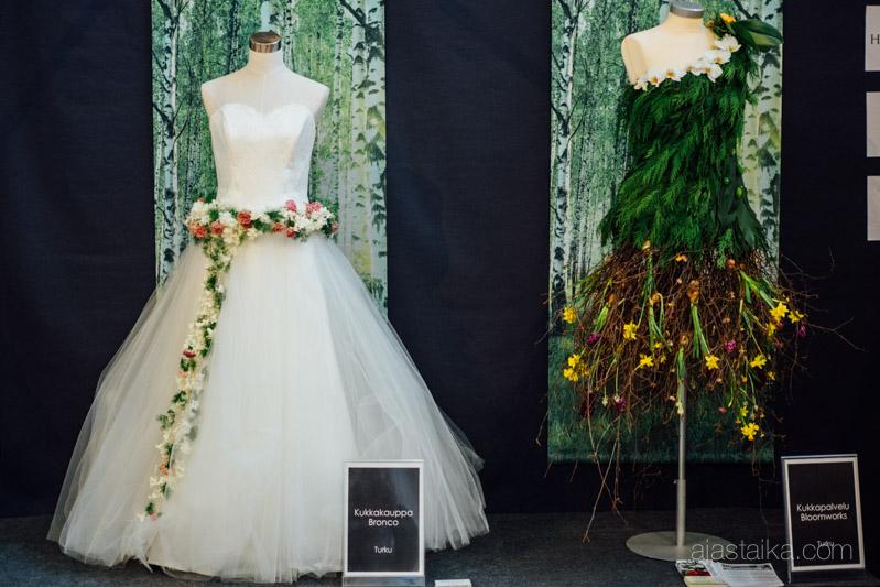 Neiti Kevät -näyttely, Kukkakauppa Bronco ja Kukkapalvelu Bloomworks