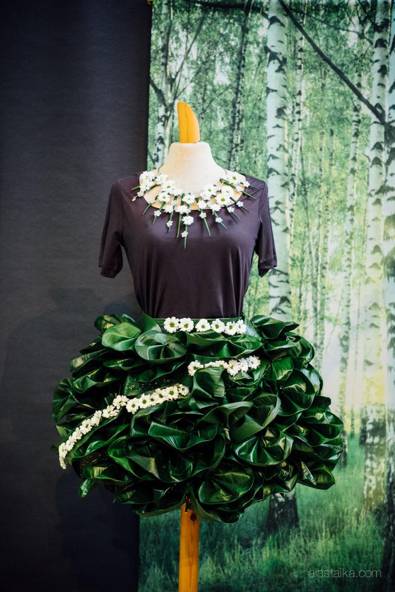 Neiti Kevät -näyttely, Salon Kukkapalvelu Unikko