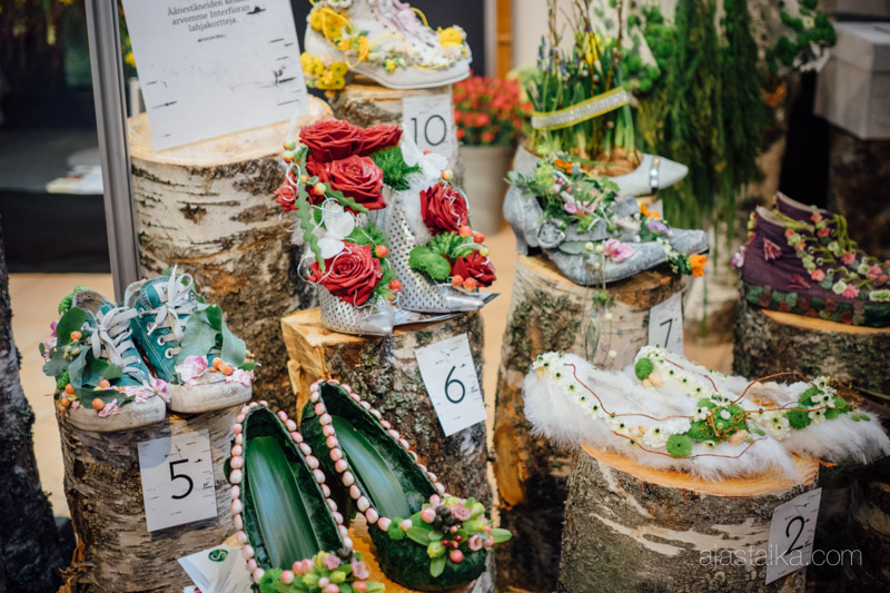 Neiti Kevään kenkäkokoelma