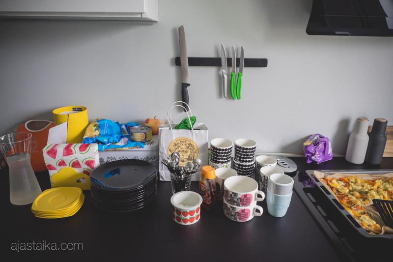 Keittiön tasolla