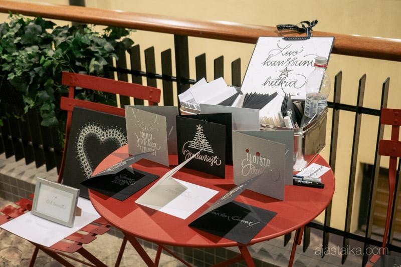 Kalligrafiakortit