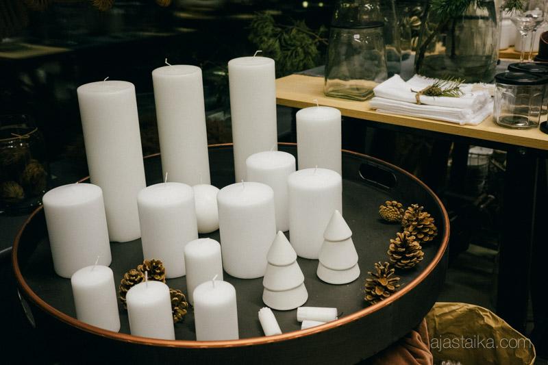 Valkoiset kynttilät